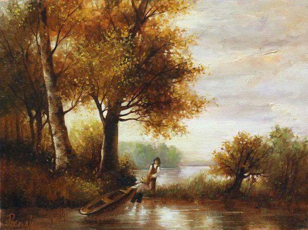 На болоте