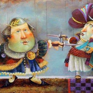 Дуэль кукловодов