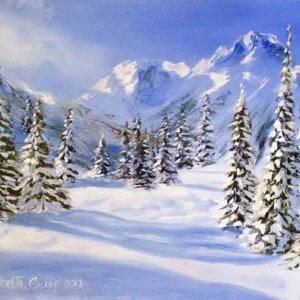 Альпийская зима