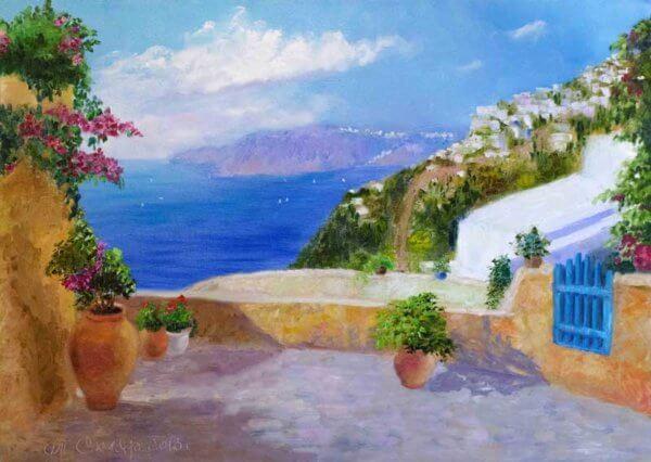 Мотивы Лонго — средиземноморье