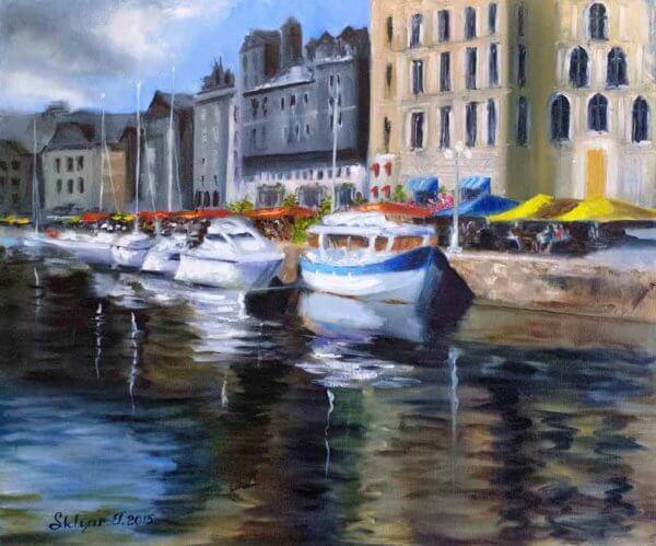Порт Онфлер, Франция!