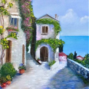 Старая греческая улочка