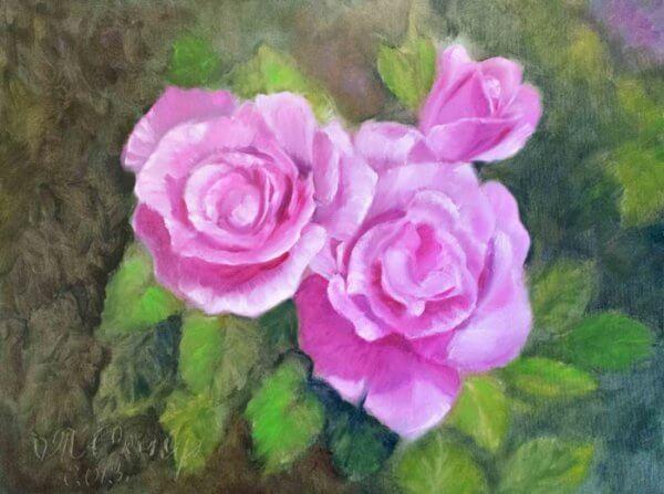 Розы — вдохновение