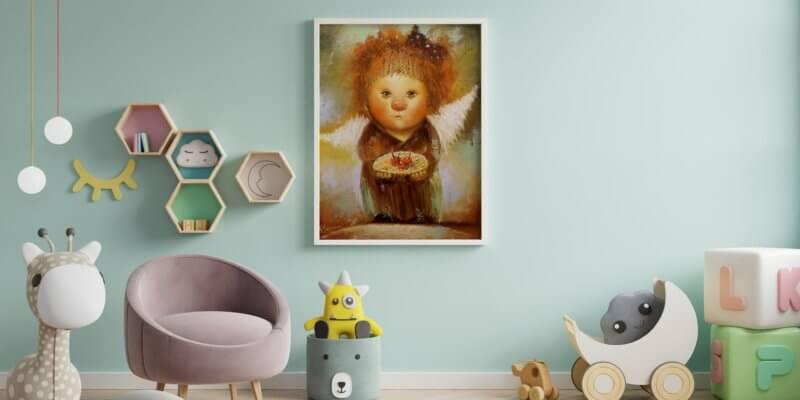 картина в детскую комнату