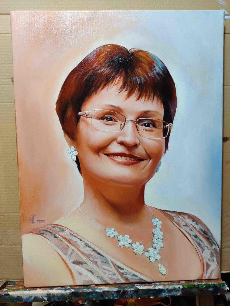 Портрет маслом украина